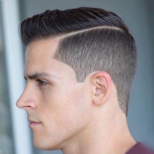 Kiểu tóc Short Brush up Taper Classic