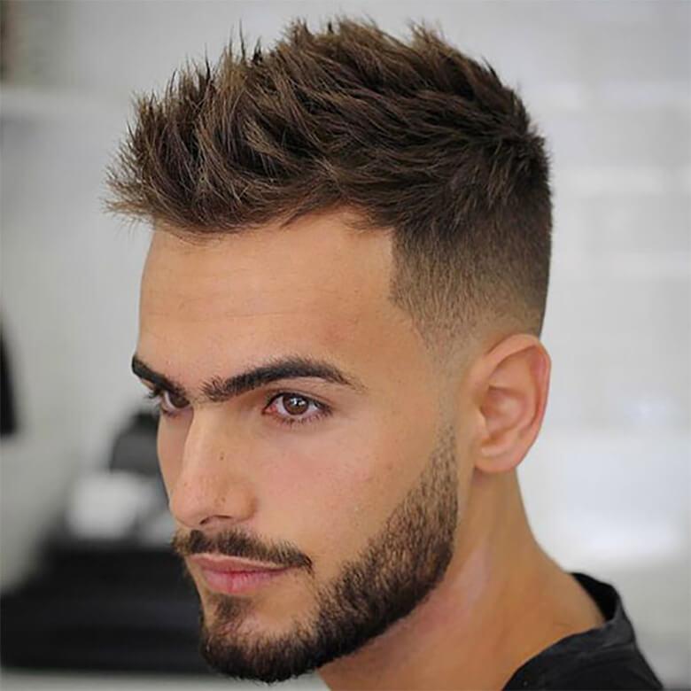 Kiểu tóc Messy Brush up