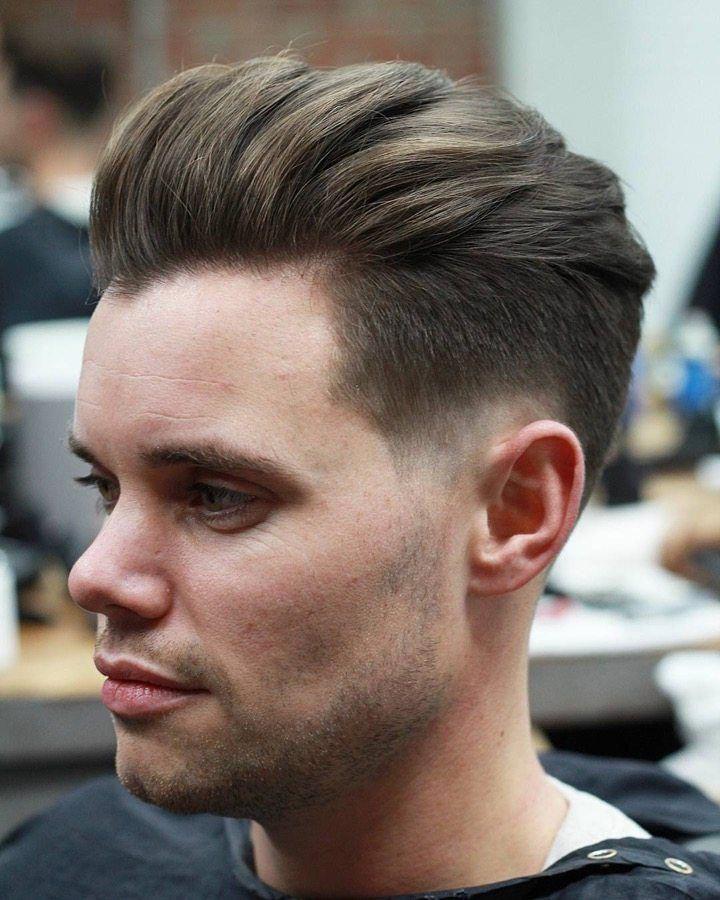 Kiểu tóc Pompadour Style Brush up