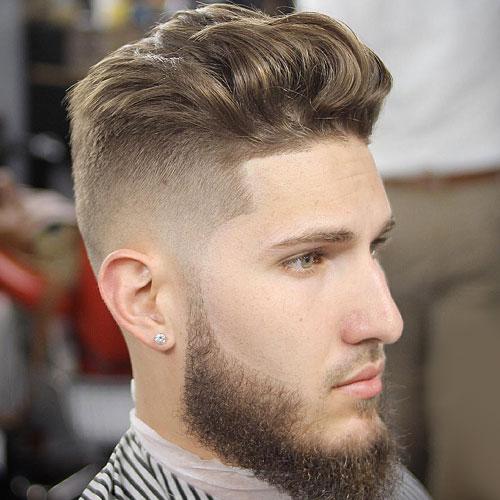 Kiểu tóc Modern Style Brush up