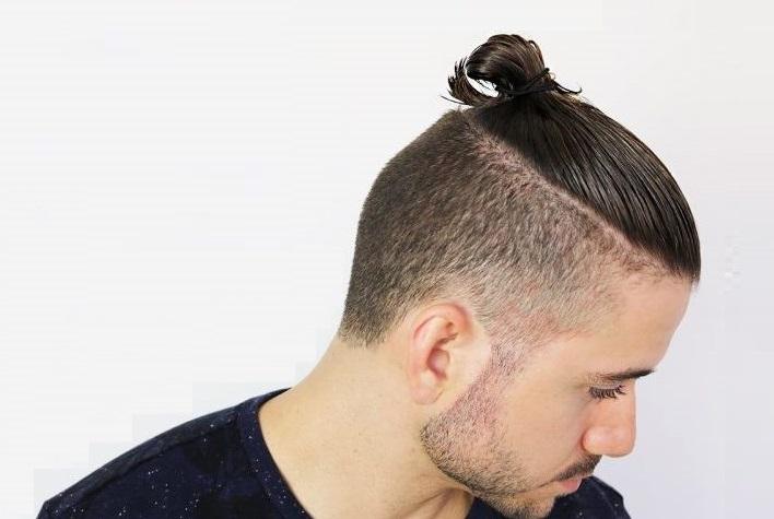 Kiểu tóc búi Undercut