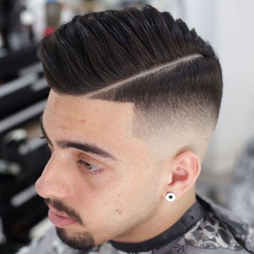 Kiểu tóc Mid Fade Pompadour
