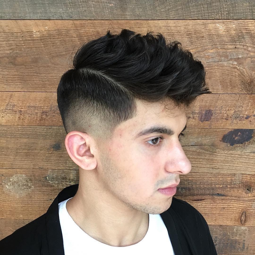 Kiểu tóc Drop Fade Pompadour