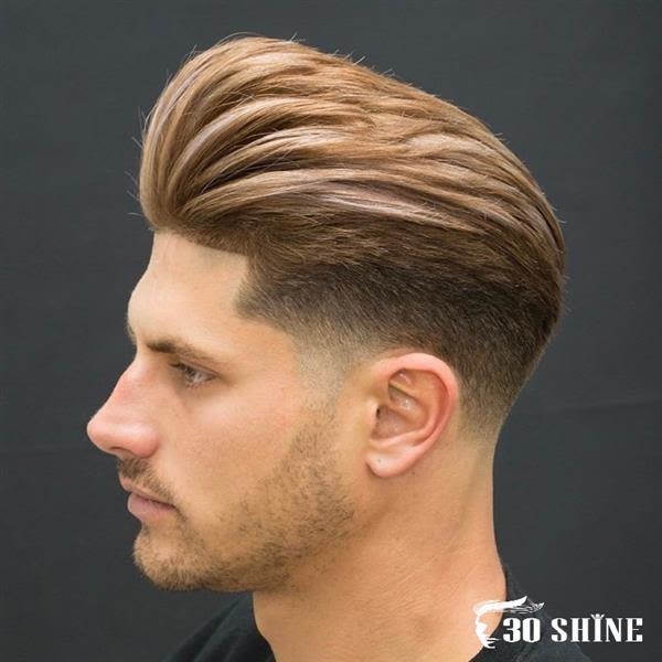 Kiểu tóc Combover + Taper Fade