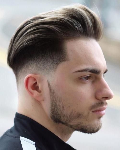 Kiểu tóc Pomp + Burst Fade