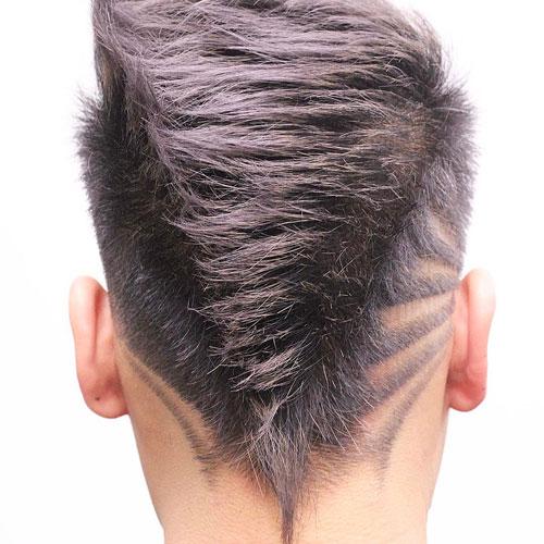kiểu tóc Faded Mohawk