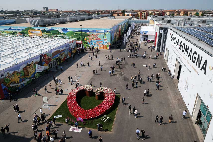 VinItaly from above