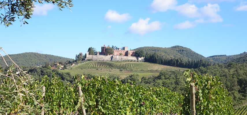 Castello di Brolio, the birthplace of Chianti