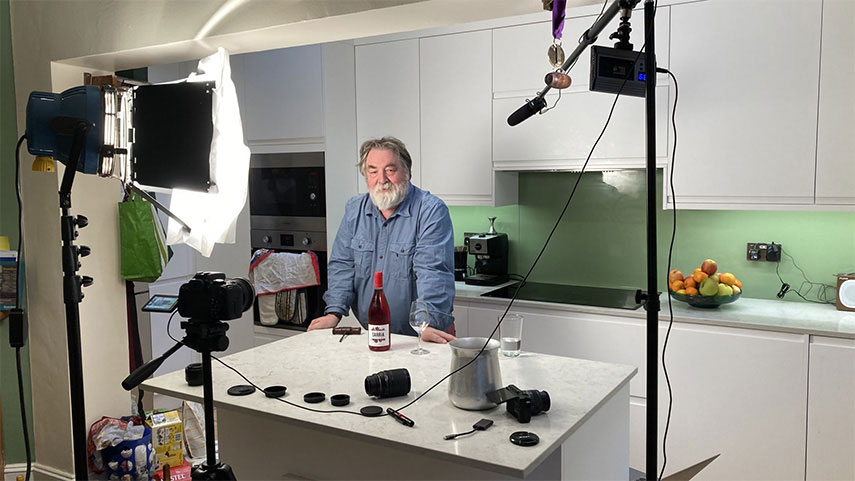 Buyer Marcel Orford-Williams' 'A Glass with Marce' videos have become a bit of an internet sensation!