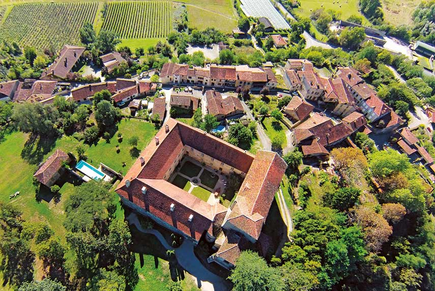 The Saint-Mont monastery lies at the heart of the village and there's a long history of wine and the cult of Saint James in the region