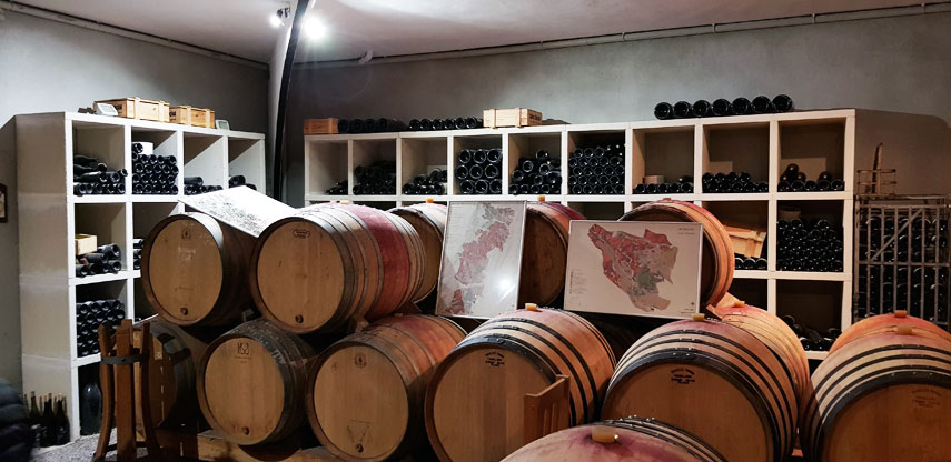 The treasure-trove like cellar of Jean-Marc Burgaud