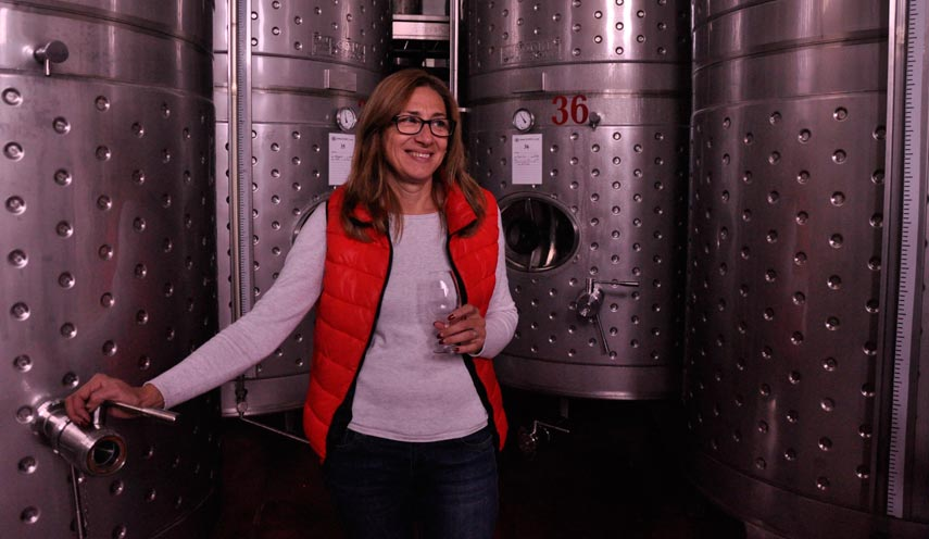 Svetla Roshleva - winemaker at Zelanos Winery