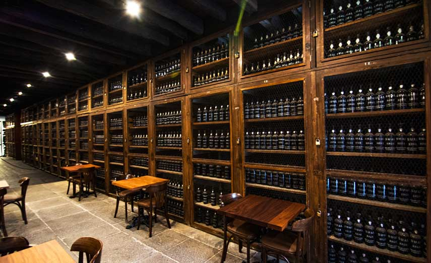 The Blandy's wine shop in downtown Funchal is a wine lover's and historian's dream