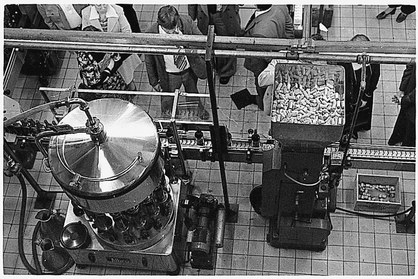 By the mid seventies we were bottling around 60% of our own wine in own purpose-built bottling hall