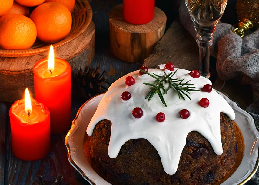 Rich, dark muscats and Christmas pudding