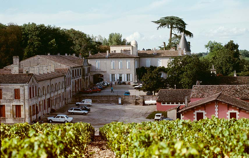 Château Lafite, Bordeaux. Worldwide demand for iconic wines like Lafite saw prices becoming stratospheric