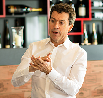 Peter Gago – Penfolds' chief winemaker in Stevenage