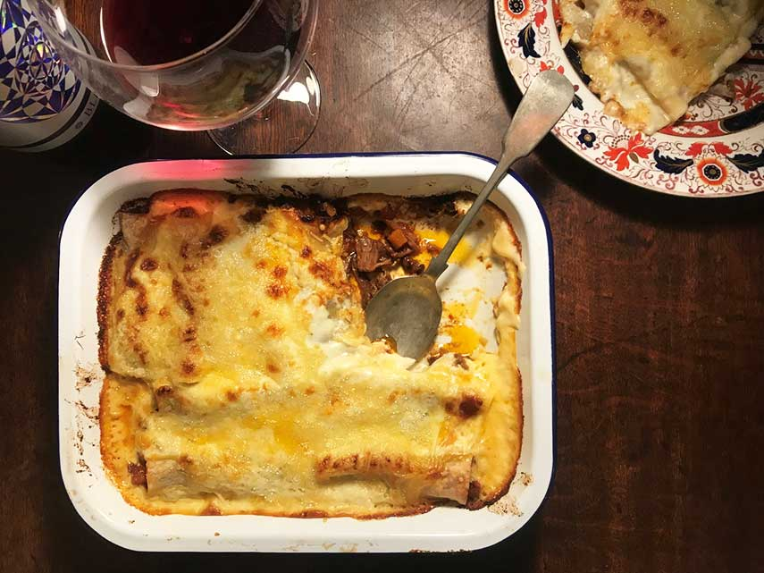 Felicity Cloake's Catalan Oxtail Canelones