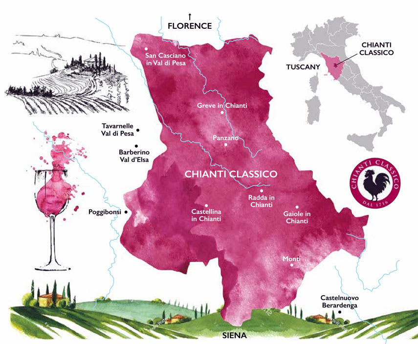 Getting to grips with the key communes of Chianti Classico