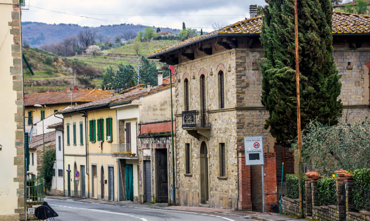 The attractive wine town of Greve-in-Chianti is the beating heart of Chianti Classico production