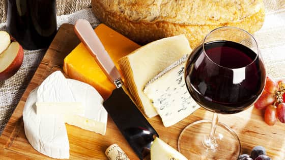 Pairing cheese and wine