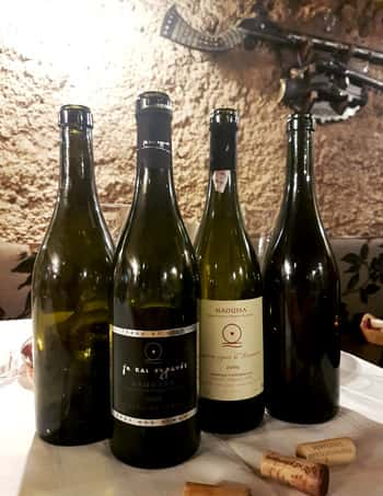 A selection of wines from Apostolos Thymiopolos. Some real treats to be had here!