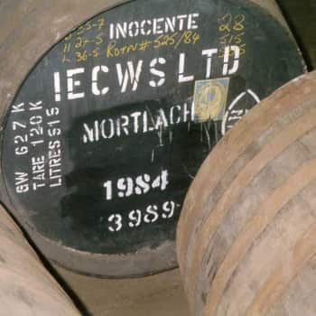 When we used to bottle in Stevenage we would ship our sherry casks to Scotland for their next 'life'