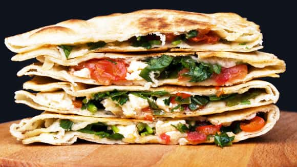 Moreish Mexican quesadilla