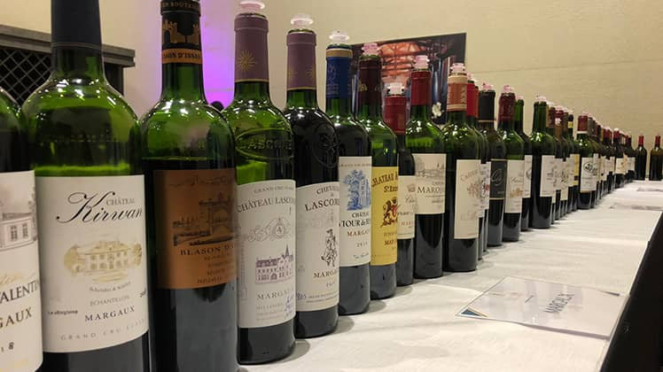 Tasting the new-born 2018 Margaux