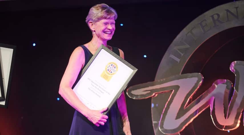 Buyer Jo Locke MW delighted to have once again scooped the Portuguese award
