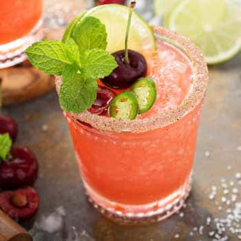 Laura's Cherry Margarita