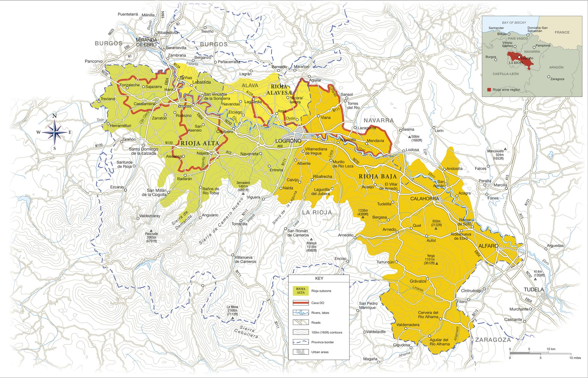 Rioja Region Spain Map.The Ultimate Guide To Rioja Wine Expertise Explore Discovery