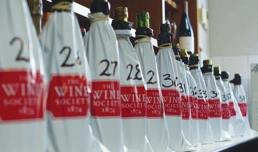 The annual Wine Champions blind tasting