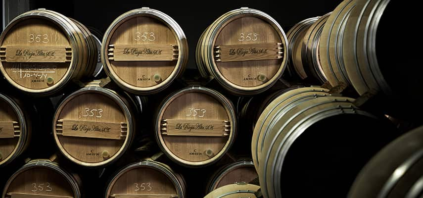 Barrels at La Rioja