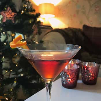 Gingerbread Manhattan