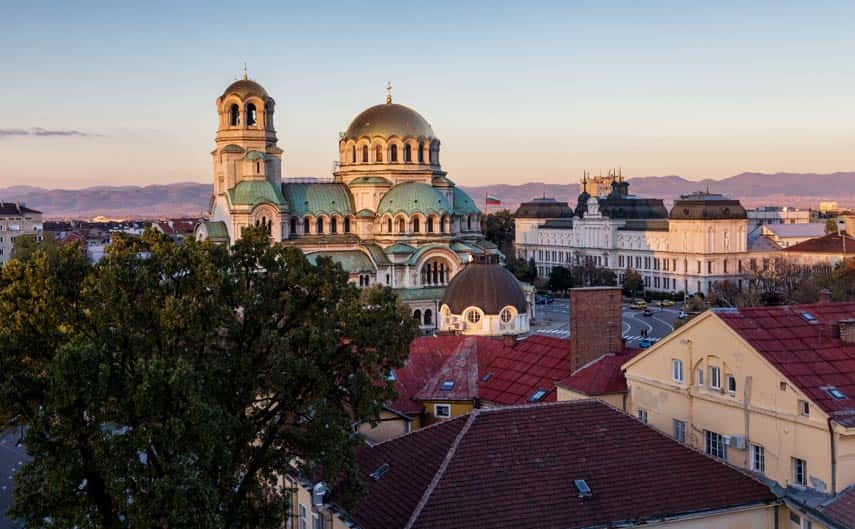 Sofia, the capital of Bulgaria