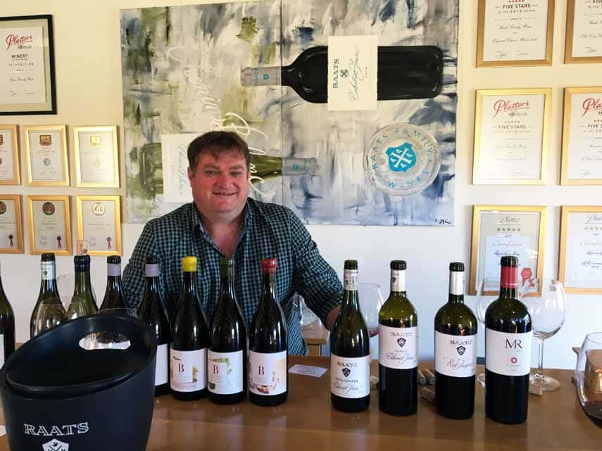 Tasting with multi award-winning Bruwer Raats