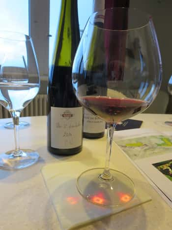 Clos St Landelin Pinot Noir 2016  more profound just on the nose alone!