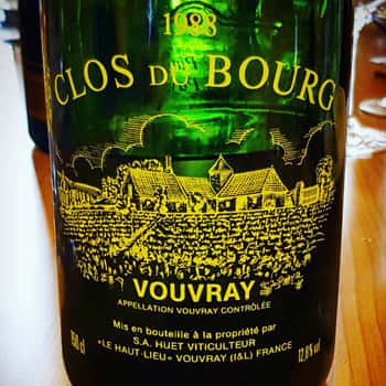 Marvelling at the work of an old master: Huet Clos du Bourg 1988