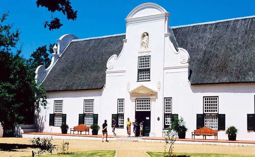 Constantia winery in South Africa