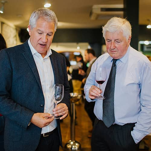 Pierre Mansour Head of Wine and Sebastian Payne MW