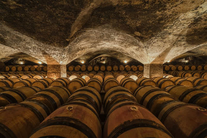 Worth a visit. The 16th century cellars under the Château de Meursault ©Hans Strand