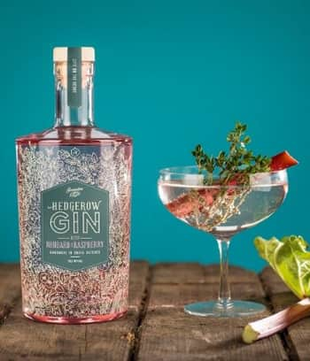 Hedgerow Rhubarb and Raspberry Pink Gin