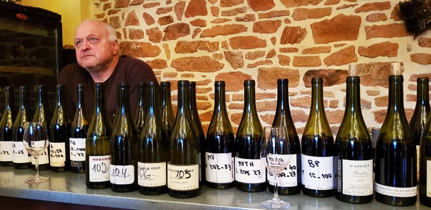 Jean-Paul Brun and a delicious line-up of 2017s and 2018s