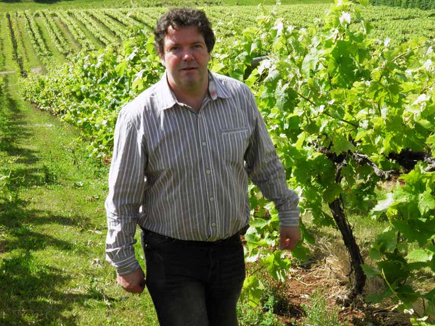 Martin Fowke, winemaker at Three Choirs