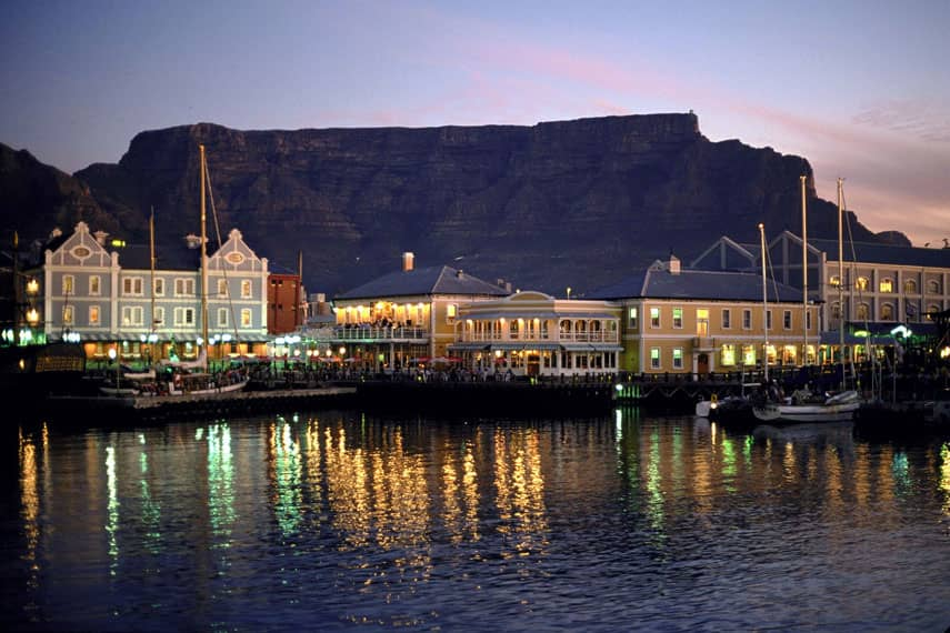 V&A Waterfront Evening, South Africa