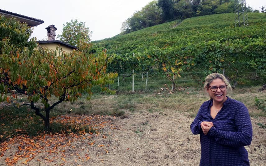 Nadia Curto - Winemaker in Barolo, Italy