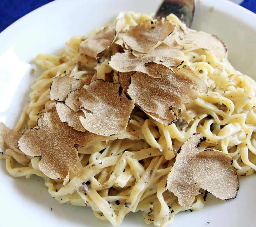 Truffle and Pasta