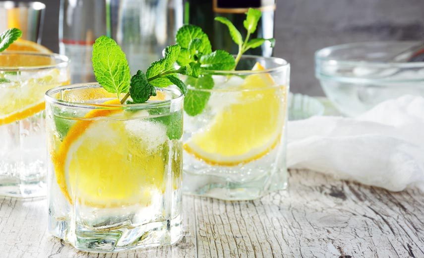 There is now a fashion for 'Portonic'; a long drink made by pouring White Port over ice and adding tonic water and a sprig of mint