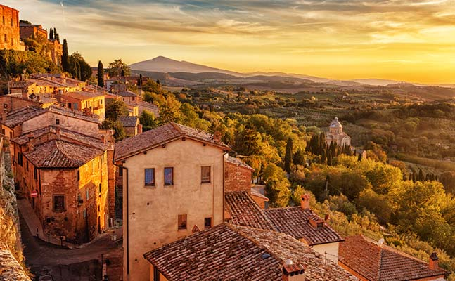 A tour of the Tuscan hills